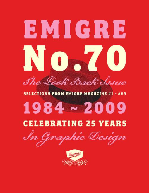 Emigre No. 70: The Look Back Issue – Celebrating 25 Years