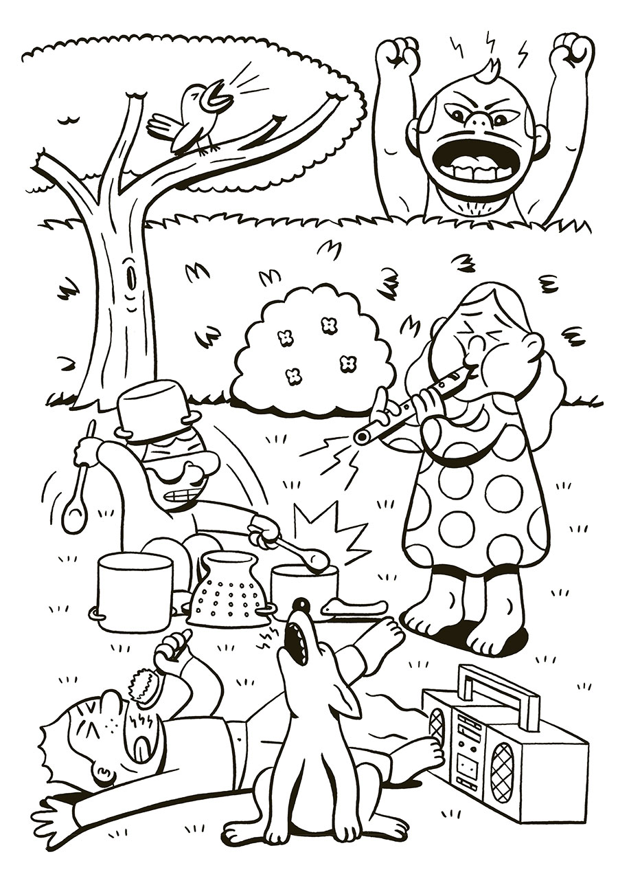 Family Fun Coloring Book | Gingko PressGingko Press