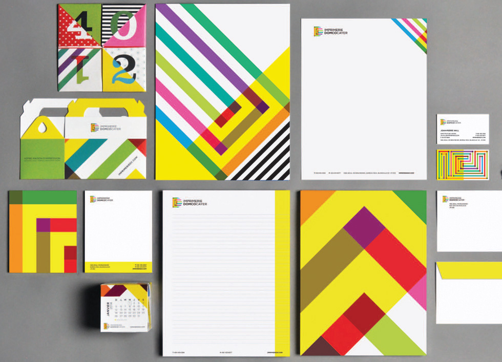 geometric graphics gingko pressgingko press