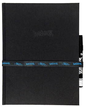 Handselecta Blackbook – CURVE (with marker)