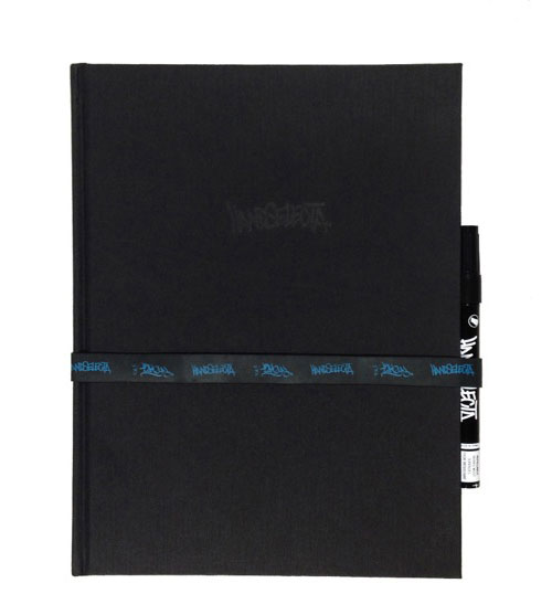 Handselecta Blackbook Journal (with marker)