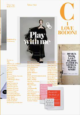 I Love Bodoni: I Love Type Series, vol 03