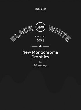 Palette No. 01: Black & White