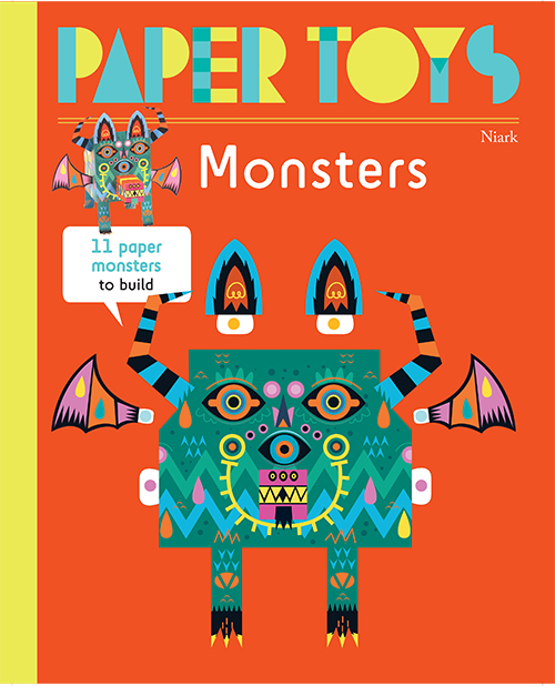 Paper Toys: Monsters (New Edition)