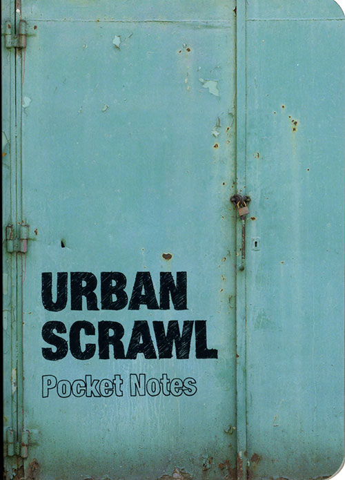Urban Scrawl Notebook Pocket Edition