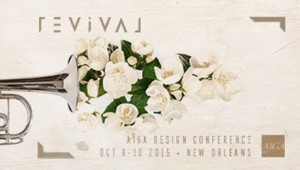 AIGA Design Conference logo REVIVAL