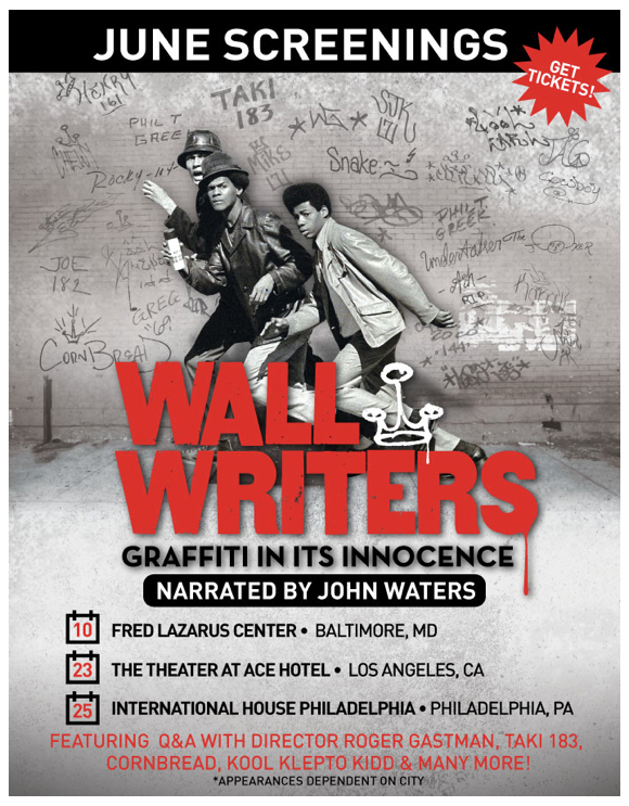 Wall Writers June Appearances