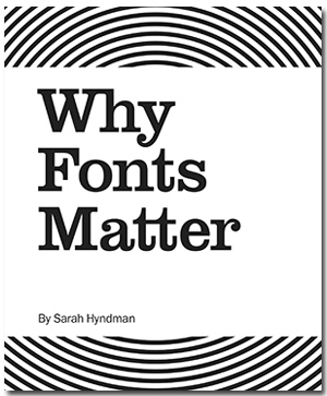 Why Fonts Matter US Cover